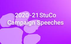 2020 StuCo Election Speeches