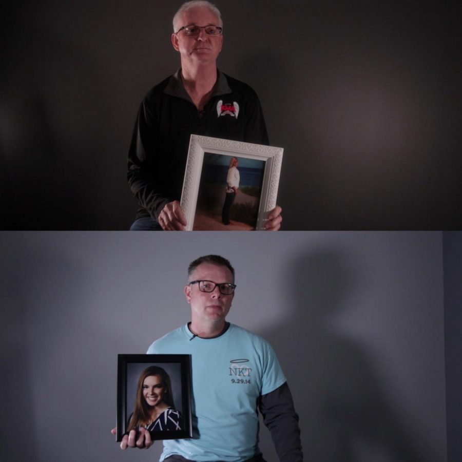 Shawn Archambault(top), Father of Kaela Archambault and Steve Timm(bottom), Father of Natalie Timm.